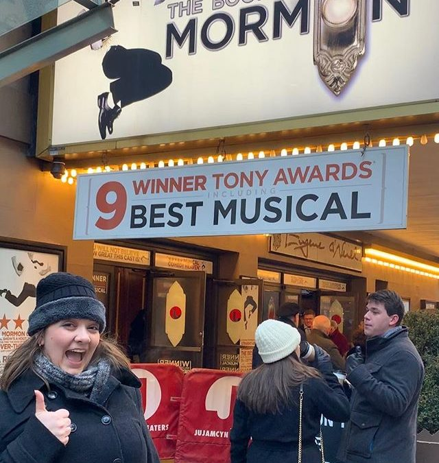 The Book of Mormon at the Eugene O'Neill Theatre